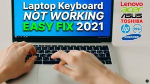 fix laptop keyboard not working