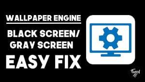 fix wallpaper engine