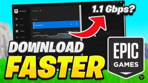 download faster in epic games